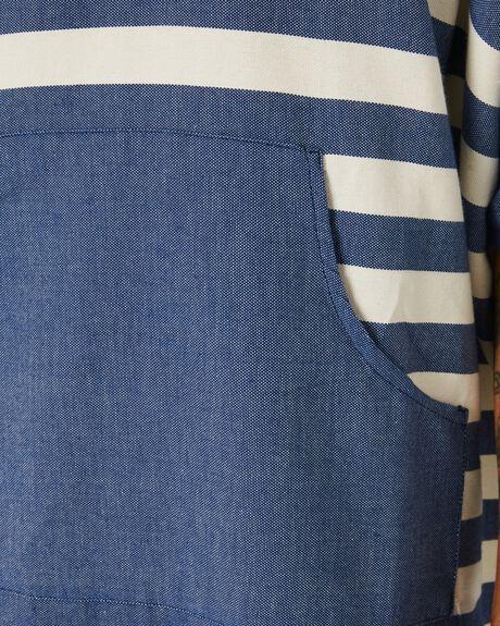BLUE STRIPE MENS ACCESSORIES BLEM BEACH ACCESSORIES TOWELS - OCNBLUESTRPON