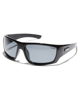 BLACK MENS ACCESSORIES LIIVE VISION SUNGLASSES - L0567ABLK