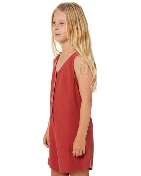 RUST KIDS GIRLS SWELL DRESSES + PLAYSUITS - S6202447RUST