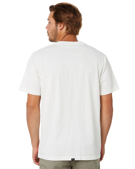 DIRTY WHITE MENS CLOTHING THRILLS TEES - TA20-125ADTWHT