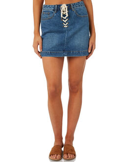VINTAGE WOMENS CLOTHING THE HIDDEN WAY SKIRTS - H8183473DENIM