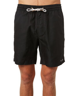 BLACK MENS CLOTHING BARNEY COOLS BOARDSHORTS - 809-CR2BLK