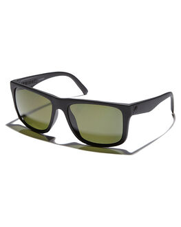 MATTE BLACK GREY MENS ACCESSORIES ELECTRIC SUNGLASSES - EE15901042MTBLK