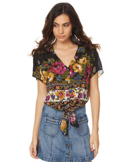 ROSE AZTEC WOMENS CLOTHING SWELL FASHION TOPS - S8174166RAZT