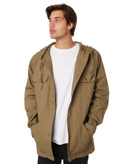 OLIVE MENS CLOTHING RPM JACKETS - 9AMT22BOLV