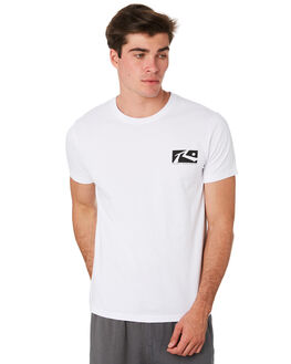 WHITE MENS CLOTHING RUSTY TEES - TTM2079WHT