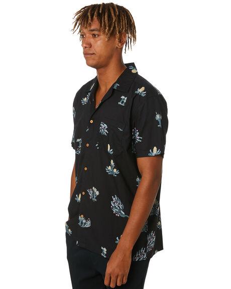 BLACK MENS CLOTHING O'NEILL SHIRTS - 6411203BLK