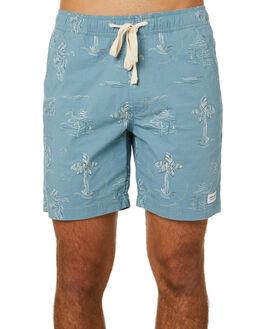 SMOKE BLUE MENS CLOTHING BANKS BOARDSHORTS - BSE0229SMB
