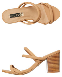 CAMEL NUBUCK WOMENS FOOTWEAR BILLINI FASHION SANDALS - H1121CAMNU