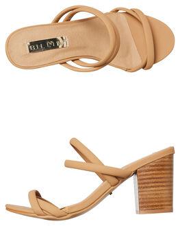 CAMEL NUBUCK WOMENS FOOTWEAR BILLINI FASHION SANDALS - H1121CAMNU