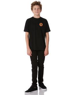 BLACK KIDS BOYS HURLEY TEES - ABAA5319010