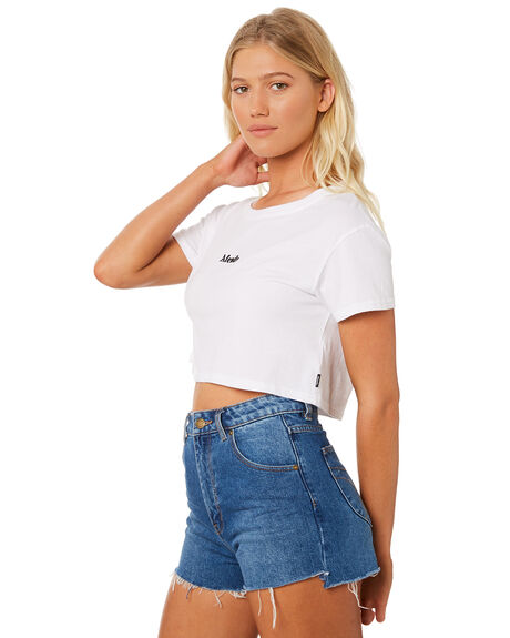 WHITE WOMENS CLOTHING AFENDS TEES - W184004WHI