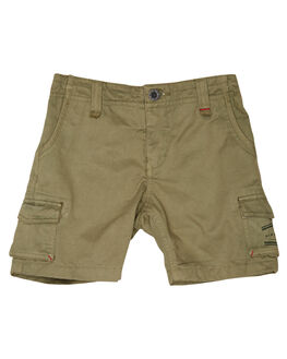 MID GREEN KIDS BOYS RIP CURL SHORTS - OWAKU19436