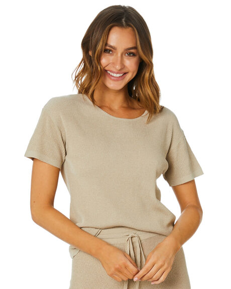 SANDSHELL WOMENS CLOTHING THE HIDDEN WAY FASHION TOPS - H8212167SNDSH