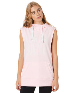 PASTEL PINK MARL WOMENS CLOTHING LORNA JANE ACTIVEWEAR - 041802PSTPK