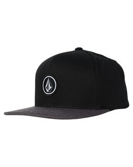CHARCOAL HEATHER MENS ACCESSORIES VOLCOM HEADWEAR - D5511561CHH