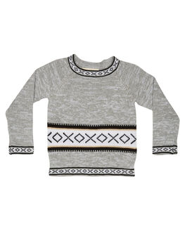 GREY KIDS BABY CHILDREN OF THE TRIBE CLOTHING - BBYJM0368GRY
