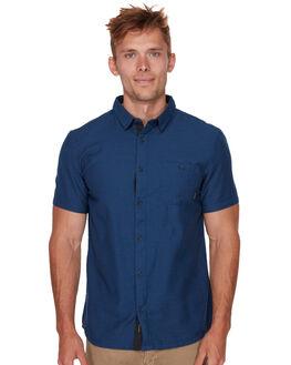 MEDIEVAL BLUE MENS CLOTHING QUIKSILVER SHIRTS - EQYWT03723BTE0