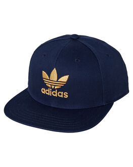 COLLEGIATE NAVY SAND MENS ACCESSORIES ADIDAS HEADWEAR - DV0177CNS