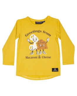 MUSTARD KIDS BABY ROCK YOUR BABY CLOTHING - BBT2057-MC-MSTD