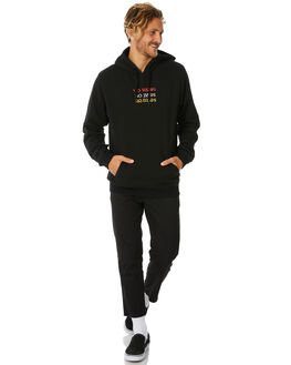 BLACK MENS CLOTHING NO NEWS JUMPERS - N5184441BLACK