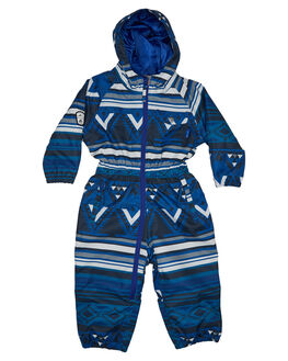 MOUNTAIN AZTEC BLUE BOARDSPORTS SNOW ELUDE BOYS - W19EBOO4218SBL