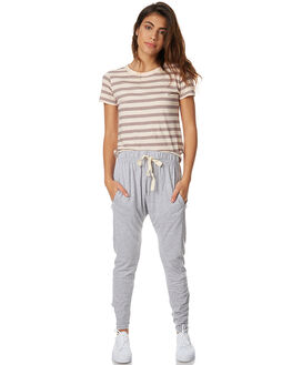 GREY MARLE WOMENS CLOTHING SILENT THEORY PANTS - 6090036GRM