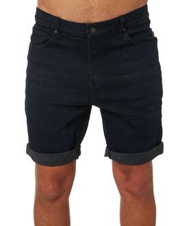 MIDNIGHT MENS CLOTHING GLOBE SHORTS - GB01916001MDNG