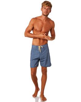 INDIGO FLOWERS MENS CLOTHING MOLLUSK BOARDSHORTS - MS2600INDFL