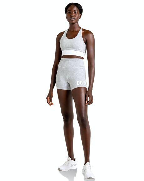 GREY MARL WOMENS CLOTHING DOYOUEVEN ACTIVEWEAR - J.09.XS