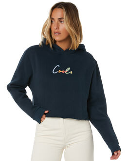 MIDNIGHT WOMENS CLOTHING COOLS CLUB JUMPERS - 408-CW6MIDN