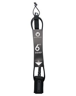 BLACKNESS BOARDSPORTS SURF MODOM LEASHES - 20196FTCOMBKBLK