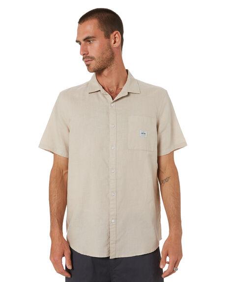 HEMP NATURAL MENS CLOTHING DEPACTUS SHIRTS - D5211171HMPNT