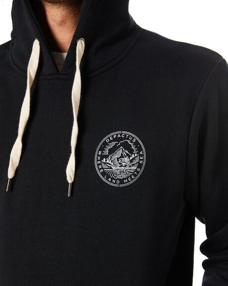 BLACK MENS CLOTHING DEPACTUS JUMPERS - D5204441BLACK