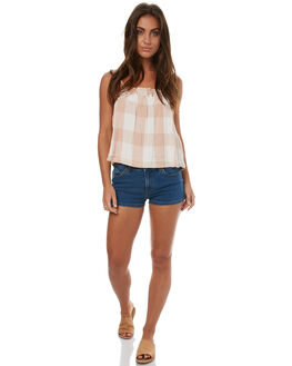 SEA BLUE WOMENS CLOTHING VOLCOM SHORTS - B1931700SBL