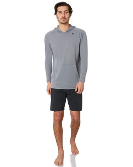 COOL GREY HEATHER BOARDSPORTS SURF HURLEY MENS - AV0788066