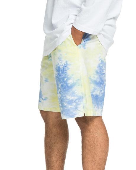 TIE DYE WASH MENS CLOTHING QUIKSILVER SHORTS - EQYWS03661-YGWW