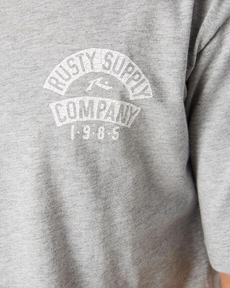GREY MARLE MENS CLOTHING RUSTY TEES - TTM2208GMA