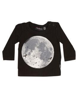 BLACK WASH KIDS BABY ROCK YOUR BABY CLOTHING - BBT1826-BMBLKW
