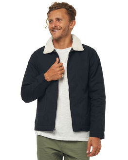 NAVY MENS CLOTHING RHYTHM JACKETS - JAN18M-JK02NAVY