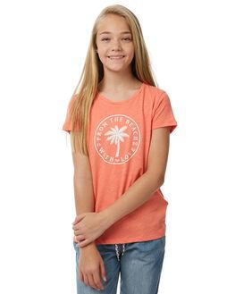 PORCELAIN ROSE KIDS GIRLS ROXY TEES - ERGZT03244MKE0