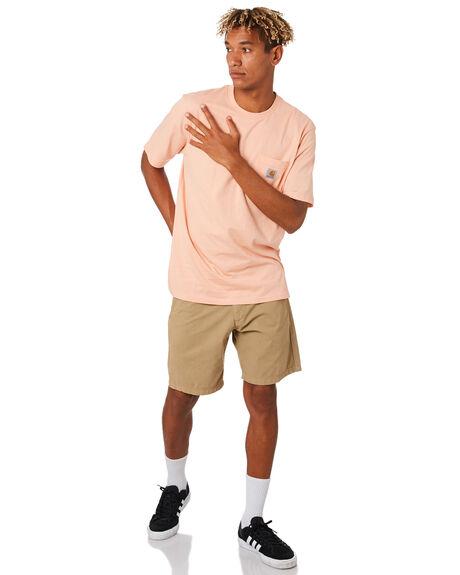 LEATHER MENS CLOTHING CARHARTT SHORTS - I021730-8YLEA