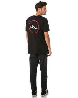 BLACK MENS CLOTHING IMPERIAL MOTION TEES - 201901002027BLK