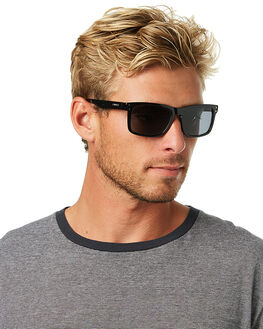 BLACK MENS ACCESSORIES CARVE SUNGLASSES - 1869BLK