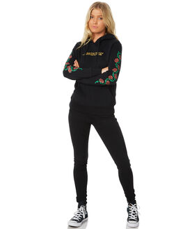 BLACK WOMENS CLOTHING SANTA CRUZ JUMPERS - SC-WFB8604BLK