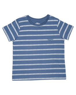 MOROCCAN BLUE KIDS TODDLER BOYS MOSSIMO TEES - 3M71ABMOR