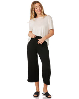 BLACK WOMENS CLOTHING ALL ABOUT EVE PANTS - 6434020BLK