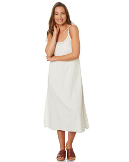 CREAM WOMENS CLOTHING ZULU AND ZEPHYR DRESSES - ZZ2761CRM