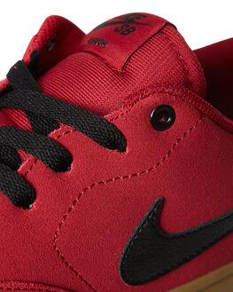 RED CRUSH MENS FOOTWEAR NIKE SKATE SHOES - 843895-601