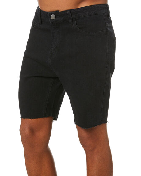 BLACK MENS CLOTHING SWELL SHORTS - S5211242BLACK